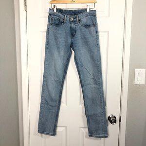 Levi's 511 slim fit jeans light wash sz 28 x 32